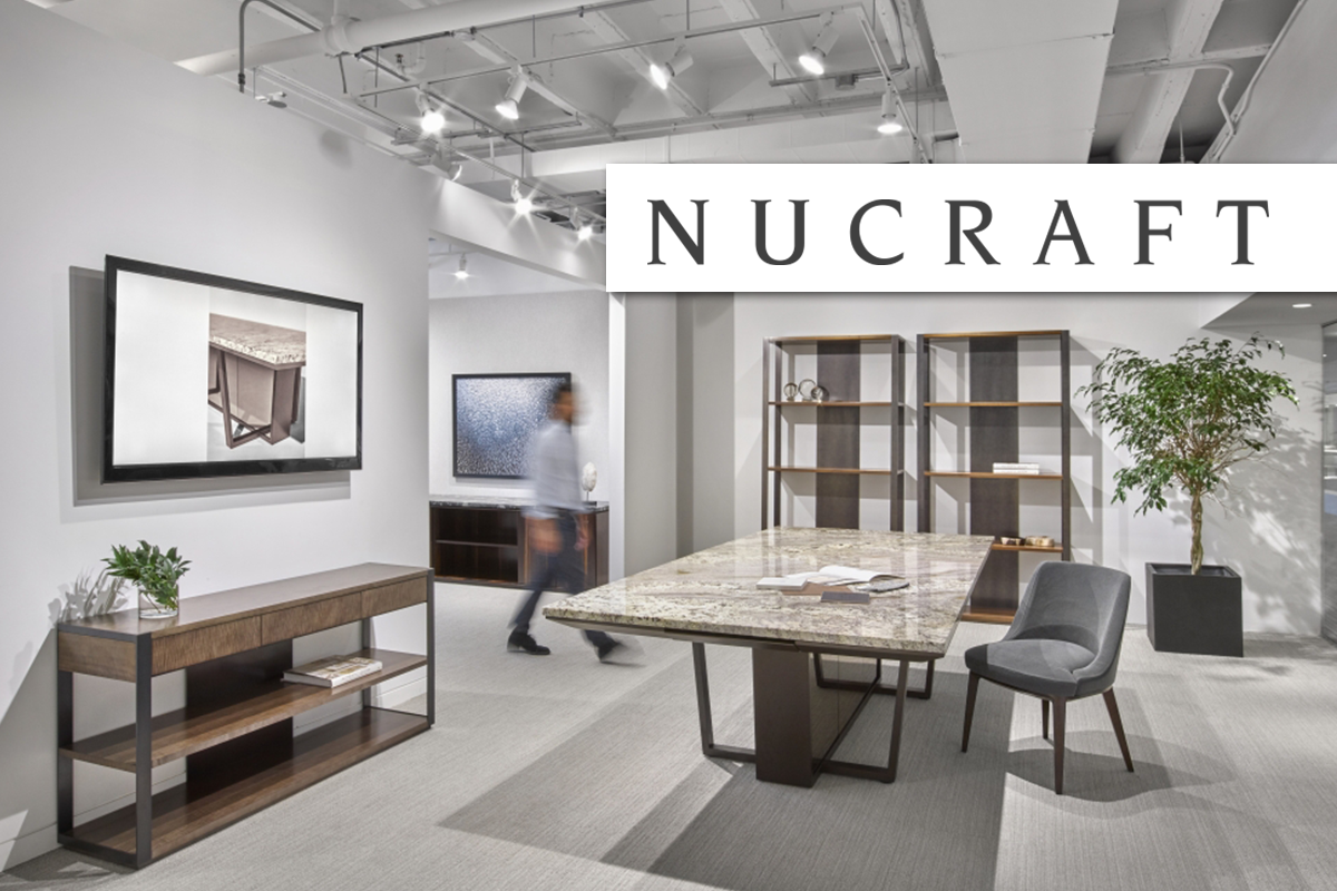 Nucraft office furniture conference table meeting teaming lounge credenza storage desk private office executive