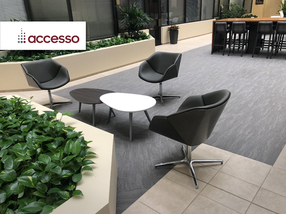 Access Partners furniture provided and installed by Vanguard Environments