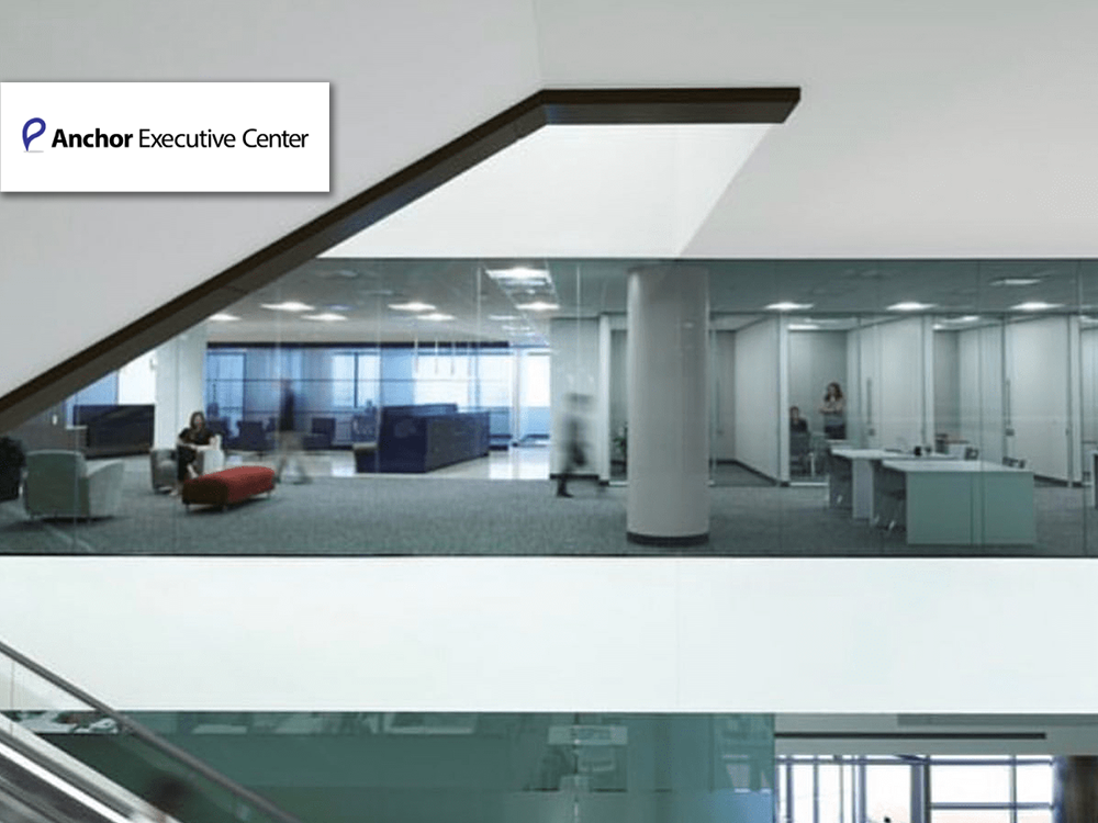 Anchor Executive Center furniture provided and installed by Vanguard Environments