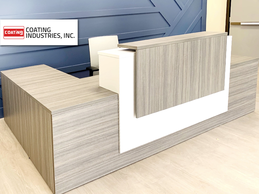 Coating Industries Inc furniture provided and installed by Vanguard Environments