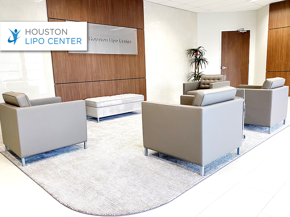 Houston Lipo Center furniture provided and installed by Vanguard Environments