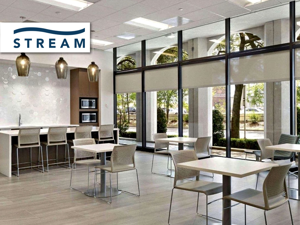 Stream Realty furniture provided and installed by Vanguard Environments