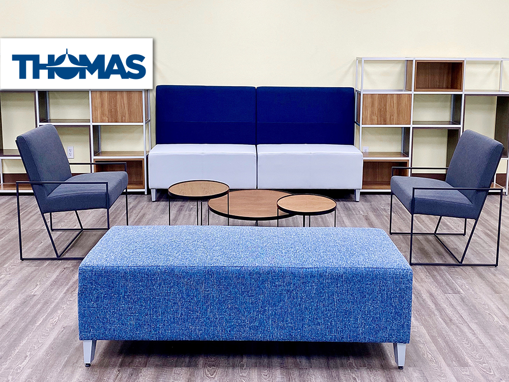 Thomas Instruments furniture provided and installed by Vanguard Environments