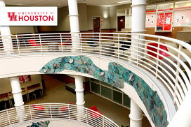 University of Houston Sugar Land furniture provided and installed by Vanguard Environments