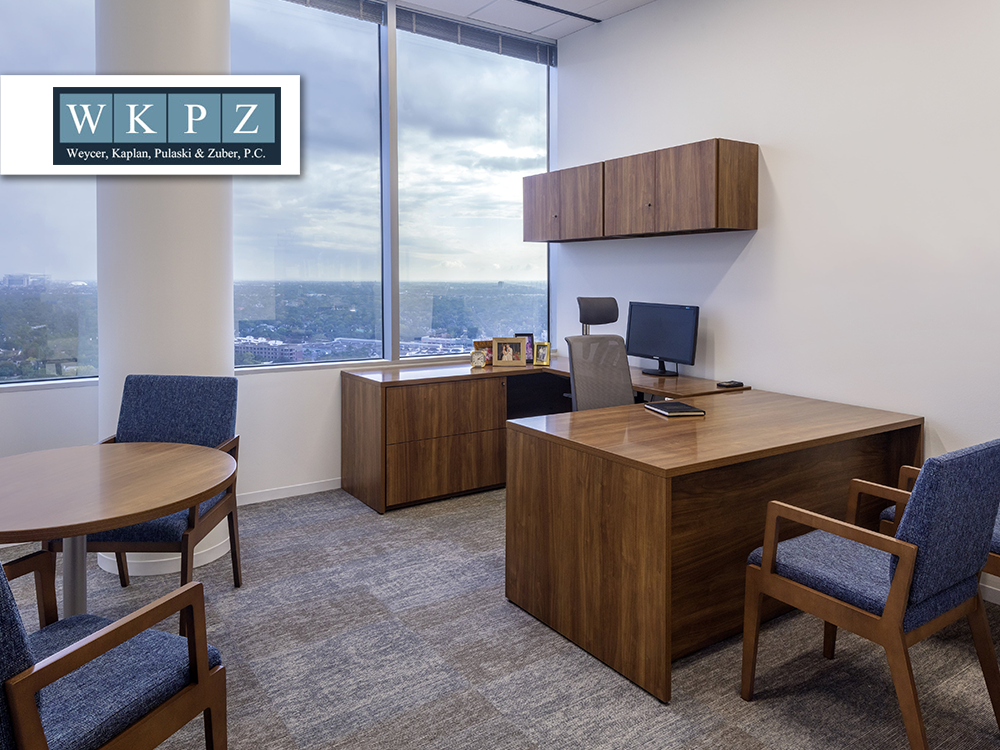 WKPZ furniture provided and installed by Vanguard Environments